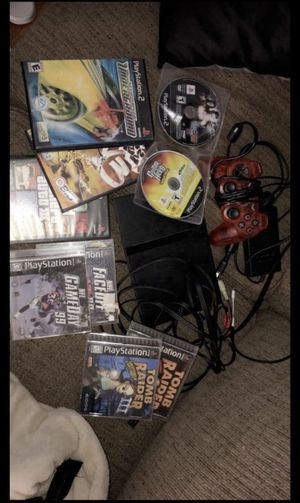Ps2 w/ games (trade for 3ds) for Sale in Hartford, CT
