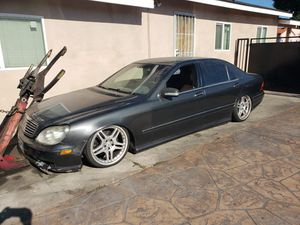 2001 MERCEDES Benz S500 parting out for Sale in Long Beach, CA