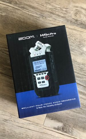 Zoom H4N Pro Handy Audio Recorder for Sale in Phoenix, AZ