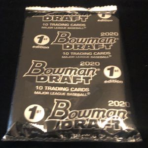 2020 Bowman Draft 1st Edition Factory Sealed Pack for Sale in Corona, CA