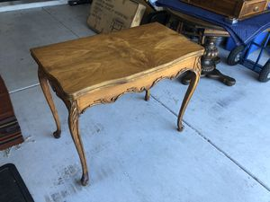 Antique 1949's card or tavern table expandable for Sale in Phoenix, AZ