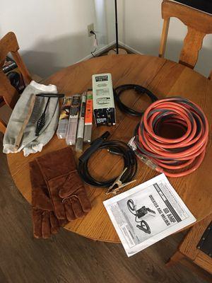 80A DC inverter Arc welder Rigid Cord starting kit for Sale in Santa Clarita, CA