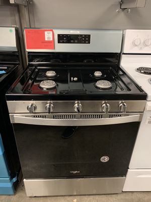 New Discounted Whirlpool Gas Range 1yr Manufacturers Warranty for Sale in Gilbert, AZ