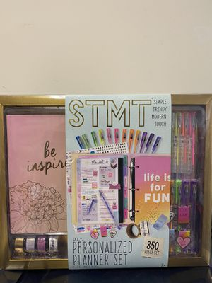Personalized Planner Set (NEW) for Sale in Harrisonburg, VA