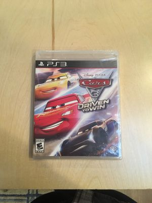 PS3 Cars 3 Driven to Win for Sale in Everett, WA