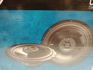 car speakers :Hifonics 6.5 inch 3 way 300 watts car speakers brand new for Sale in Bell Gardens, CA