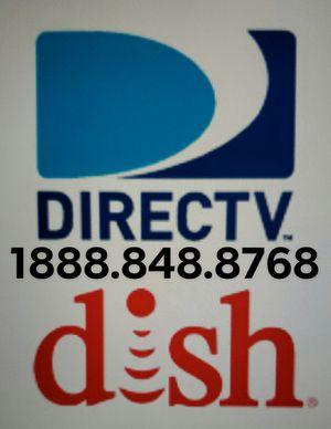 Cable free install and DVR/Instalacion gratis con grabadora Directv and Dish Network for Sale in Ontario, CA