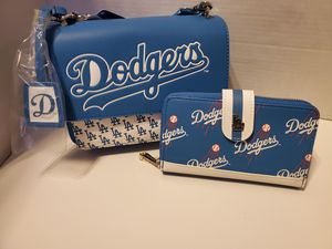 Dodgers loungefly purse and wallet for Sale in Downey, CA