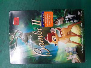 Disney dvd bambi 2 II for Sale in Lancaster, OH