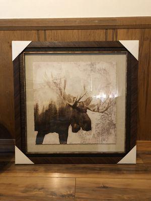 Moose picture frame for Sale in Atlanta, GA