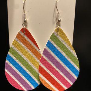 Rainbow Teardrop Earrrings for Sale in Portland, OR