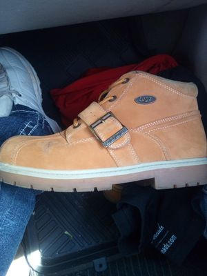 Lugz boots size 9.5. I would like to trade for a pair of Nike air Max or jordans. Size 10 for Sale in Oklahoma City, OK