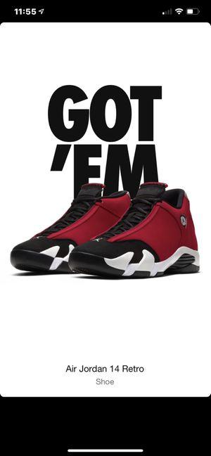 Air Jordan 14 Gym Red Size 12 PRE ORDER!!! for Sale in Harriman, TN