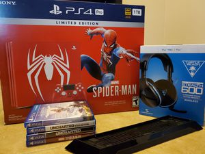 Spider man Playstation 4 Pro for Sale in North Olmsted, OH