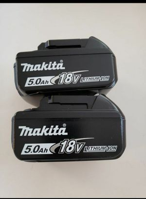 Makita 5.0 Batteries FIRM PRICE for Sale in Fullerton, CA