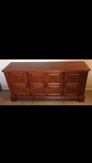 New Console Cabinet: moving out deal for Sale in Westland, MI
