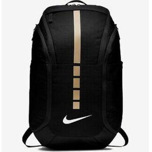 New Nike Hoops Elite Pro Basketball Backpack BA5990-010 -Black/Gold- NWT for Sale in Chandler, AZ