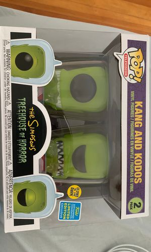 Kang and Kodos the Simpsons treehouse of horror for Sale in North Providence, RI
