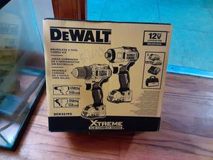 Dewalt brushless 2-tool combo kit for Sale in Durham, NC