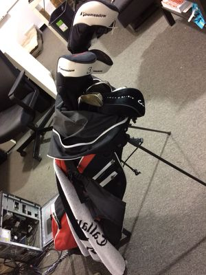 Pinemeadow Golf Clubs + Callaway Driver, Taylormade 5 Wood, and Taylormade Putter for Sale in Columbus, OH