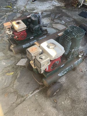 Rolair gas air compressors for Sale in Tampa, FL