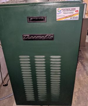 Thermo Flo Low Boy Beckett complete oil furnace for Sale in Lisbon, ME