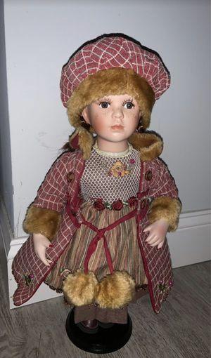 Porcelain Doll Red Dress for Sale in Coconut Creek, FL