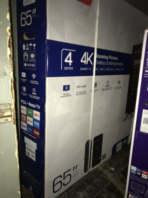 "65"" TCL ROKU SMART 4K TV for Sale in Dearborn, MI"