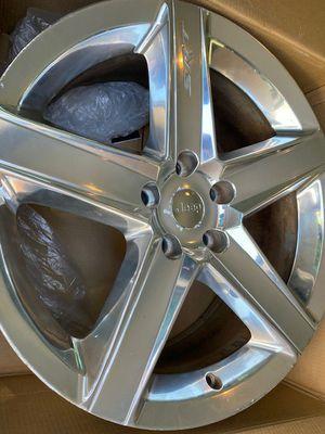 Set of 4 polished chrome SRT 8 wheels for Sale in Chelan, WA