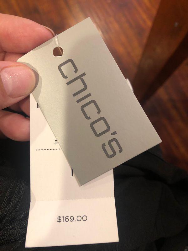 New Chicos fringe flapper gatsby 20's dress women's medium