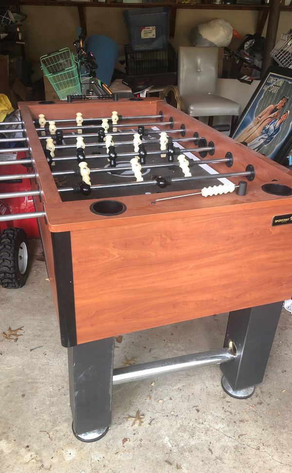 Free football table