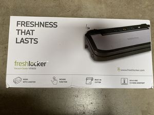 Freshlocker food vacuum sealer for Sale in Norwalk, CA