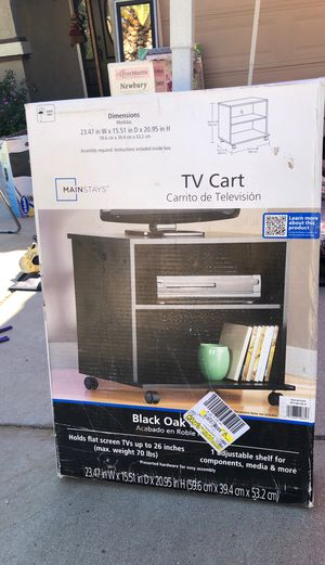 Tv cart brand new for Sale in Riverside, CA