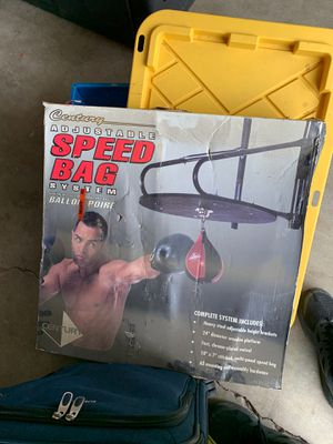 Speed bag for Sale in San Diego, CA