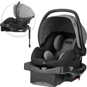Evenflo LiteMax DLX Infant Car Seat, Meteorite (date manufactured 06/2020) for Sale in Las Vegas, NV