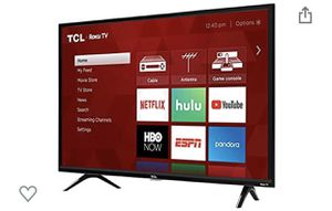 TCL 32 Inch Smart TV with Remote for Sale in Glen Allen, VA