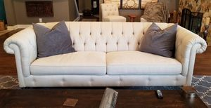 Couch, Sofa - Tufted Chesterfields - Individual or Set of Two for Sale in Fort Lauderdale, FL