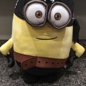 "Giant Minion Pirate Plush 22"" Despicable One Eye Carl Kevin Stuart Universal for Sale in Gaithersburg, MD"