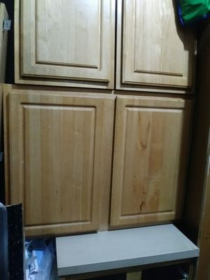 Oak kitchen cabinets for Sale in Washington, DC