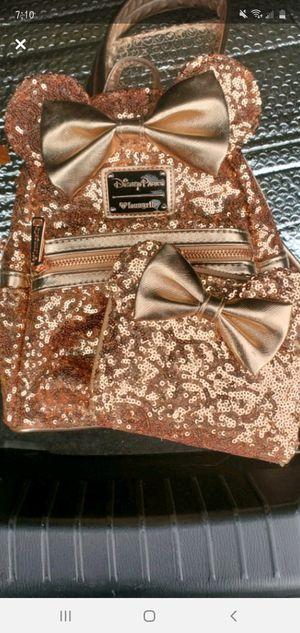 Rose gold loungefly bag for Sale in Harlingen, TX