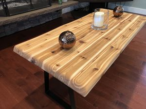 Cedar coffee table. (New) for Sale in Bothell, WA