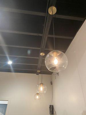 Hanging light chandelier fixture total of 4 for Sale in Manassas, VA