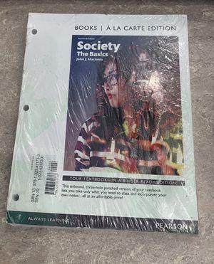 Society: The Basics — 14th Edition for Sale in Lexington, KY