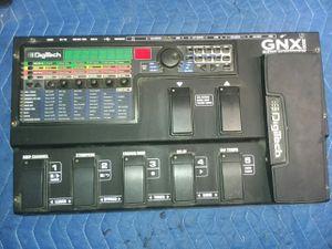 Digitek gnx3000 guitar workstation for Sale in Ypsilanti, MI