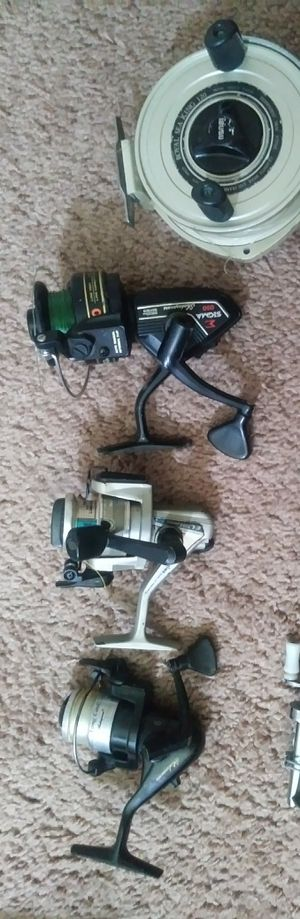 Fishing reels for Sale in Fairview, OR