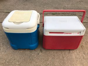 Igloo and Coleman snack coolers for Sale in McLean, VA
