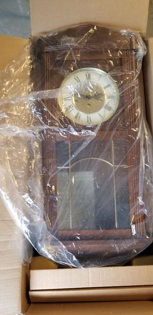 Antique Emil Schmeckenbecker (German) Windup Wall Clock for Sale in Portland, OR