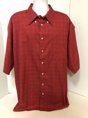 Burberry London Red Plaid Button-Down S/S Shirt Men's Size XXXL 3XL for Sale in Long Beach, CA