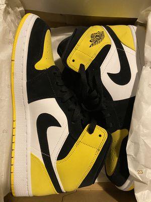 Jordan 1 yellow toe for Sale in S CHESTERFLD, VA