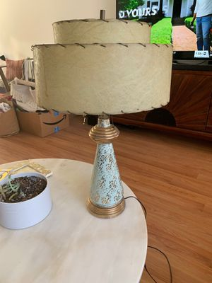 Mid Century Vintage Lamp Retro Antique Light for Sale in Los Angeles, CA